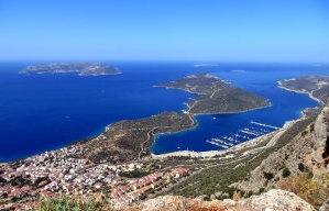 Kaş is a small beautiful diving and tourist town