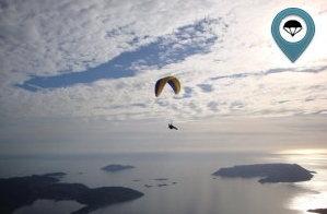Likya semalarında yamaç paraşütü Keyfi